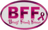 【ステッカーM】 thinkPink/No-5 BFF breast friends forever (全10種類) [ST067-05]